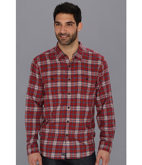 Camasi Lucky Brand - Palisades Plaid 2-Pocket - Red Plaid