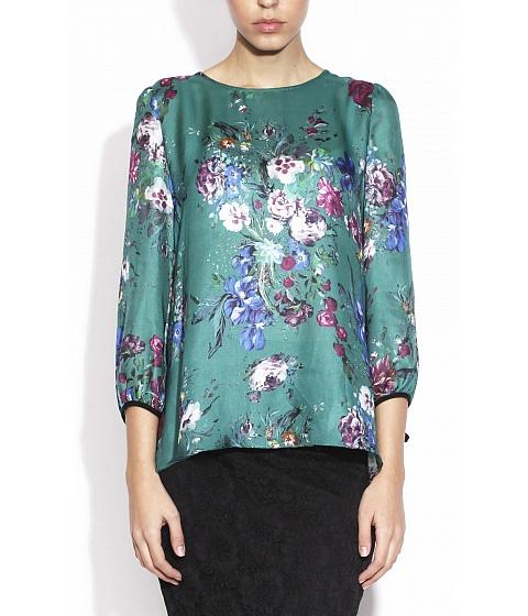 Bluze Nissa - Top TOP6318 - Imprimat/Verde