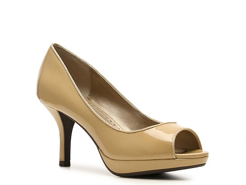 Pantofi Adrienne Vittadini - Pyper Platform Pump - Taupe