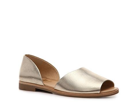 Sandale Crown Vintage - Firenze Flat - Platinum