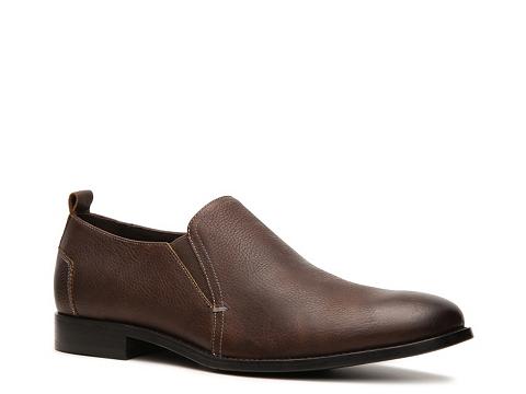 Pantofi Aston Grey - Kingston Slip-On - Brown