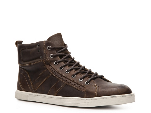 Pantofi Bed Stu - Westwood High-Top Sneaker - Brown