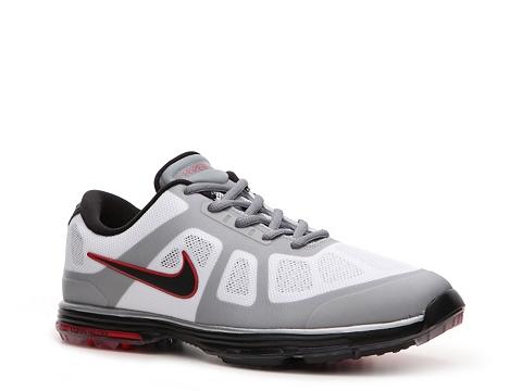 Pantofi Nike Golf - Nike Lunar Ascend Golf Shoe - Mens - White/Red