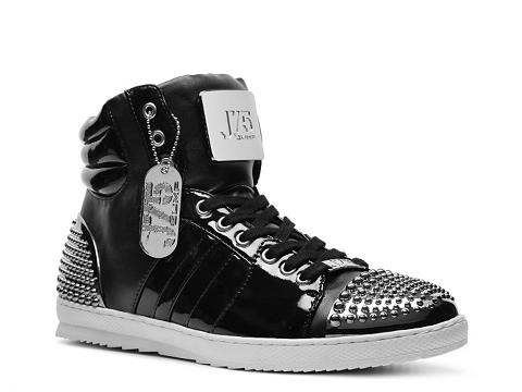 Pantofi J75 by Jump - Arsenal Sneaker - Black/Silver