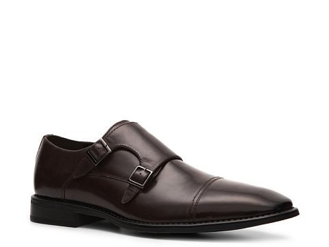 Pantofi J75 by Jump - Woodmere Double Monk Slip-On - Brown