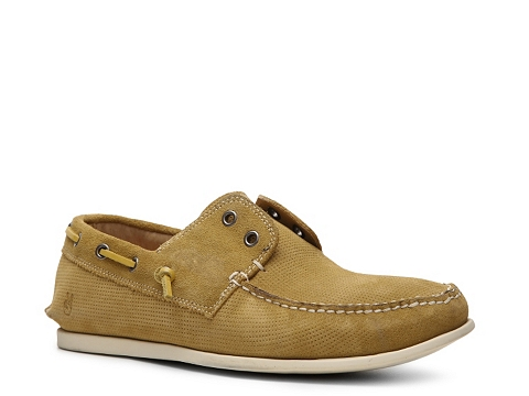Pantofi John Varvatos - Schooner Boat Shoe - Mustard Yellow