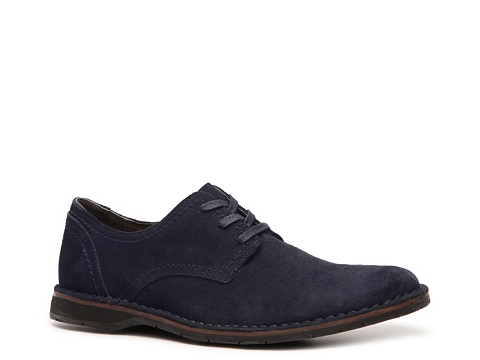 Pantofi John Varvatos - U.S.A. Buck Oxford - Navy Blue