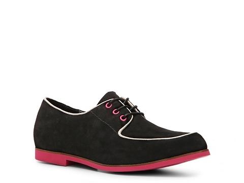 Pantofi Hush Puppies - Graham Oxford - Black/Pink