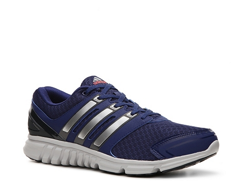 Pantofi adidas - Falcon PDX Lightweight Running Shoe - Mens - Navy Blue/Silver/Grey