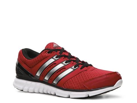 Pantofi adidas - Falcon PDX Lightweight Running Shoe - Mens - Red/Black/Silver