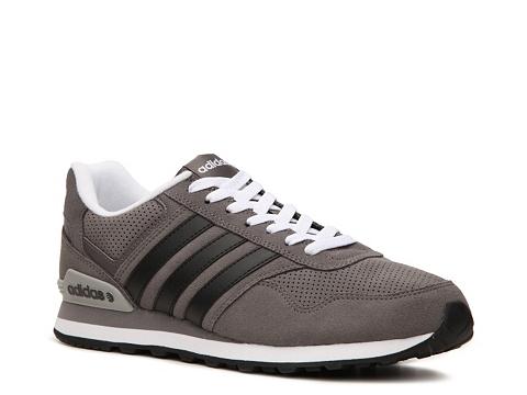 Adidasi adidas - Runeo 10K Retro Sneaker - Mens - Grey/Black