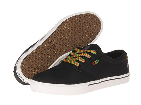 Adidasi etnies - Jameson 2 Eco - Black/Aloha (Canvas)