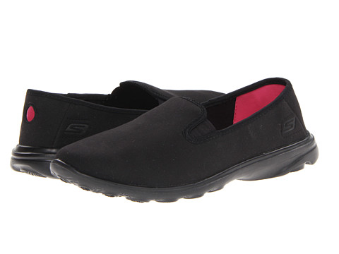 Adidasi SKECHERS - GoSleek - Slide - Black