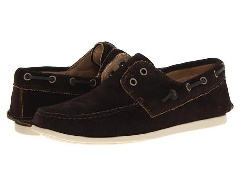 Pantofi John Varvatos - Schooner Boat Shoe - Espresso