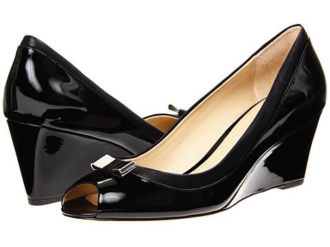 Pantofi COACH - Georgann - Black Patent/Black Leather