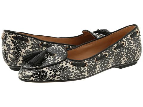 Balerini COACH - Malika - Black-White/Black Shiny Leather