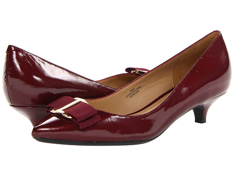 Pantofi Isaac Mizrahi New York - Gina - Dark Red Patent