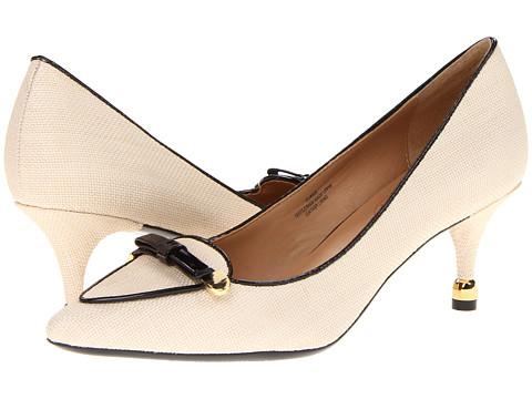 Pantofi Isaac Mizrahi New York - Janis - Natural Linen/Black