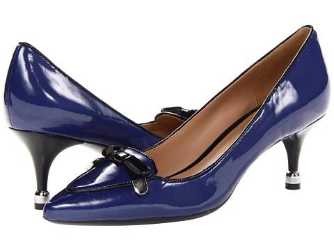Pantofi Isaac Mizrahi New York - Janis 2 - Blue/Black Patent