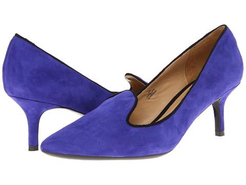 Pantofi Isaac Mizrahi New York - Joy - Blue Suede/Black Combo