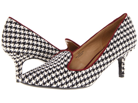 Pantofi Isaac Mizrahi New York - Joy - Black/White/Burgundy