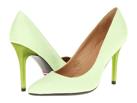 Pantofi Isaac Mizrahi New York - Leeza - Light Green/Linen