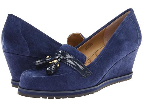 Pantofi Isaac Mizrahi New York - Naples - Navy Suede