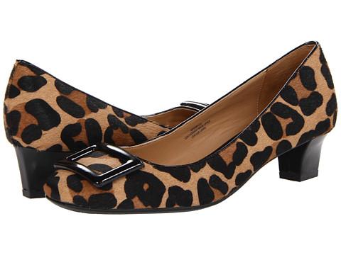 Pantofi Isaac Mizrahi New York - Perrylee - Black/Brown Haircalf