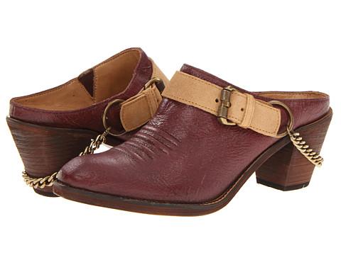 Pantofi Lucchese - Kendra Harness Mule - Tan
