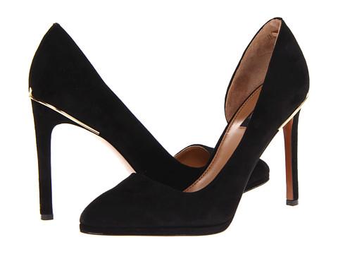 Pantofi Rachel Zoe - Vanessa - Black Suede