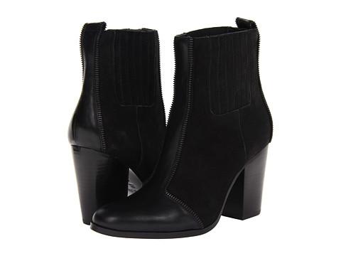 Botine Rachel Zoe - Kane - Black Leather