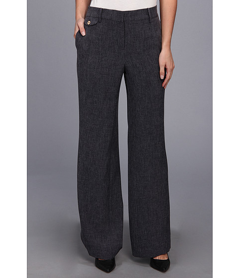 Pantaloni Jones New York - Pant With Flap Coin Pocket - Navy Multi