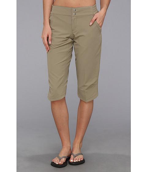 """Pantaloni Mountain Hardwear - Petrinaâ""""¢ Capri - Khaki"""