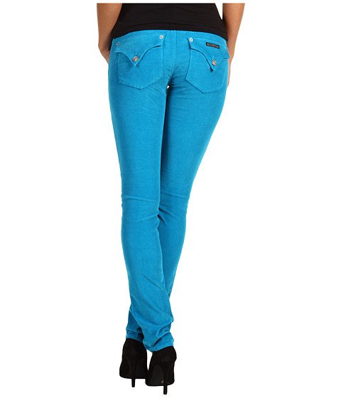 Pantaloni Hudson - Collin Skinny Cord - Teal We Meet