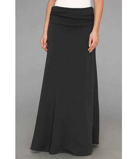 Fuste Culture Phit - Trysta Fleece Maxi Skirt - Charcoal