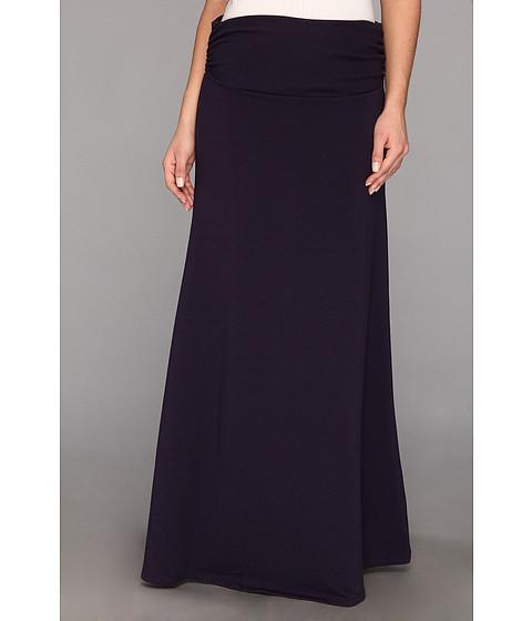 Fuste Culture Phit - Trysta Fleece Maxi Skirt - Dark Purple