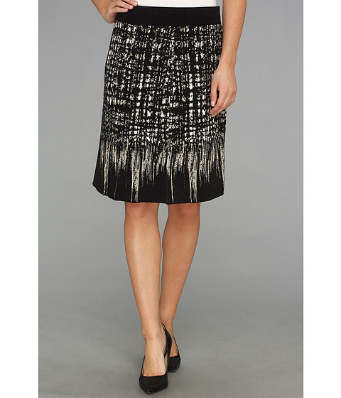 Fuste NIC+ZOE - Faded Squares Wink Skirt - Multi