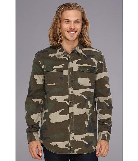 Camasi ONeill - Brookside Woven Shirt - Camo Print