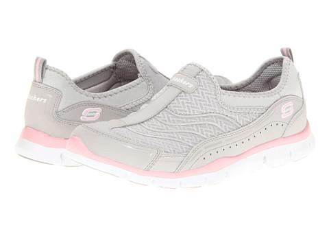Adidasi SKECHERS - Gratis - Legendary - Light Gray/Pink
