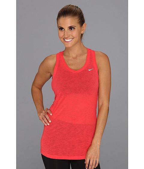 Bluze Nike - Nike Breeze Tank - Fusion Red/Reflective Silver