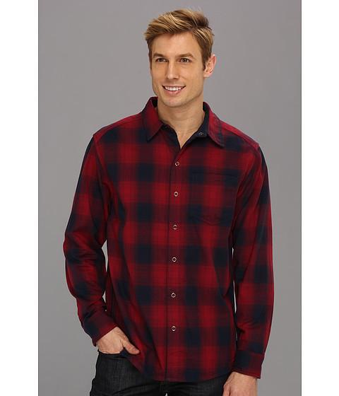 "Camasi Mountain Hardwear - Reverse Gridâ""¢ L/S Shirt - Collegiate Navy"