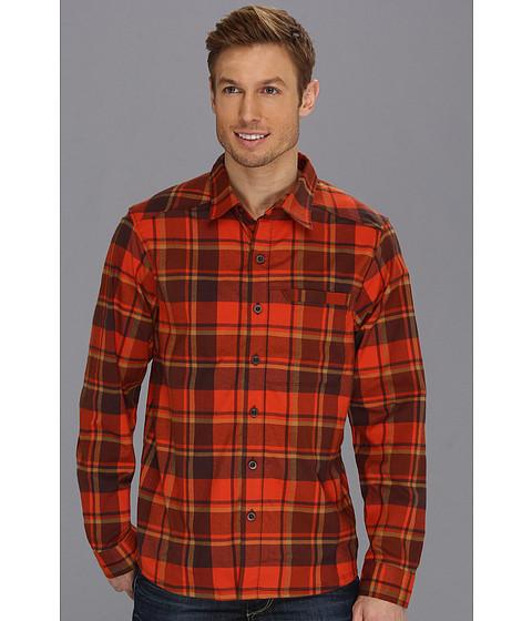 "Camasi Mountain Hardwear - Stretchstoneâ""¢ Flannel L/S Shirt - State Orange"