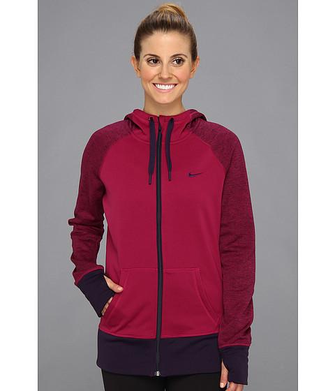 Bluze Nike - All Time Full Zip Hoodie - Raspberry Red/Purple Dynasty/Purple Dynasty