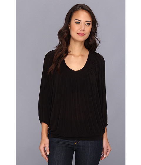 Bluze Free People - Moss Solid Top - Black
