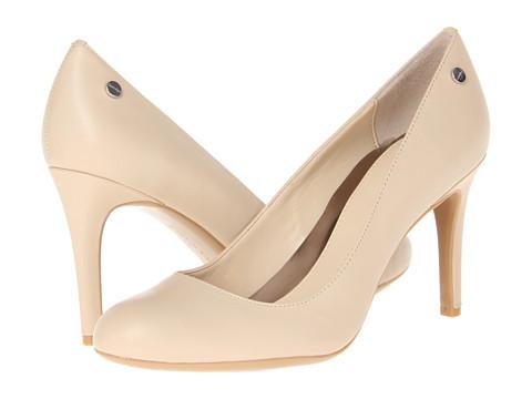 Pantofi Calvin Klein - Lana - Natural Kidskin
