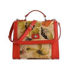 Genti de mana Lulu Townsend Kelly & Katie Dorothy Top Handle Cross Body Bag Orange | mycloset.ro