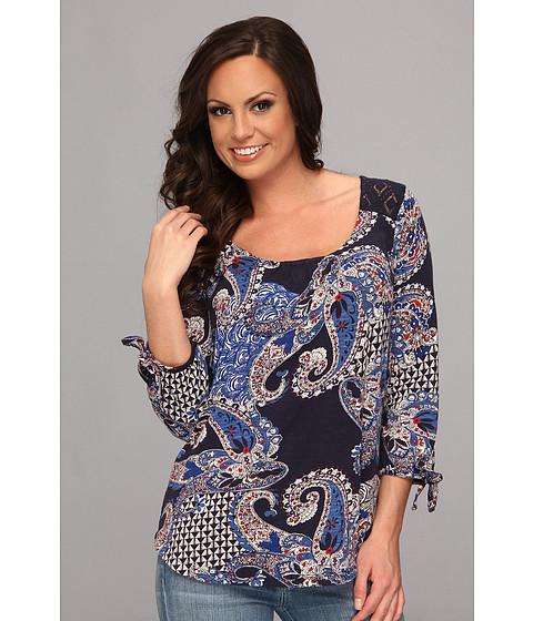 Bluze Lucky Brand - Paisley Lace Back Top - Multi