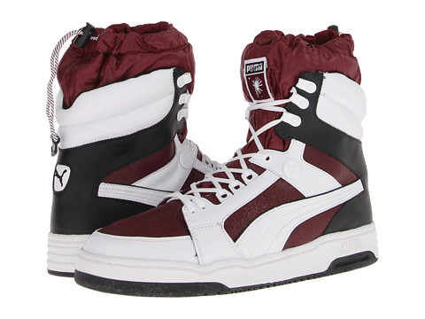 Adidasi Puma Sport Fashion - MY-68 - Cabernet/White/Black