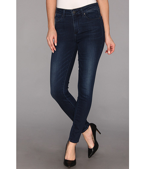 Blugi Paige - Hoxton High-Rise Ultra Skinny in Blue Crescent - Blue Crescent