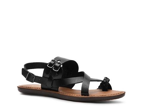 Sandale Crown Vintage - Debbie Flat Sandal - Black